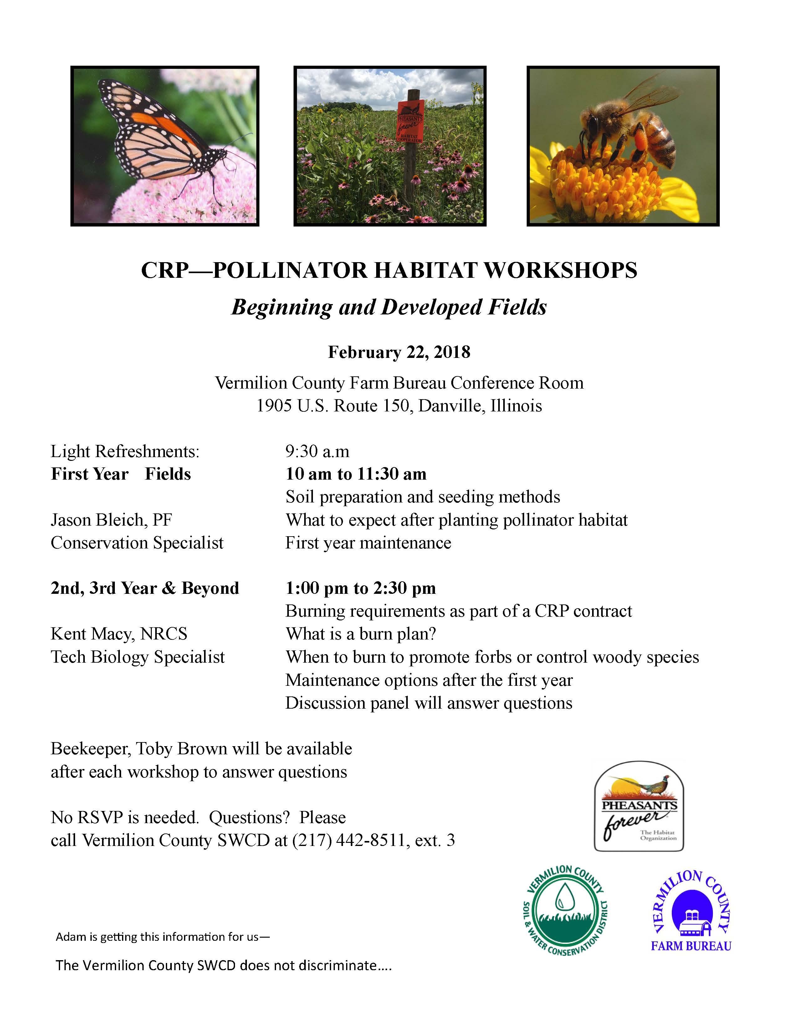 Danville CRP Pollinator Meeting
