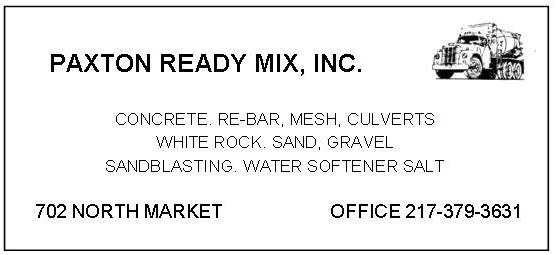Paxton Ready Mix AD